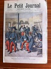 ?Le petit Journal illustré 17/03/1895; Duel Escrime, mort de Harry Alis