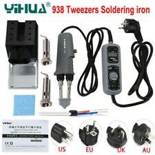 YIHUA 938D Portable Electric Tweezers Soldering Iron Welding Station 110V/ 220V