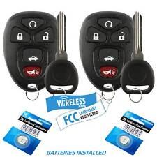 2 Car Fob Keyless Remote For 2005 2006 2007 2008 2009 2010 Pontiac G6 Key Fits Pontiac G6