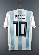 4.9/5 Messi Argentina jersey Xs 2018 home shirt Bq9324 football Adidas ig93