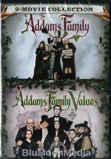 The Addams Family 1 & 2 DVD Movies Addams Family Values 2 Disc Set Brand NEW