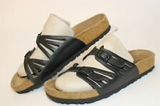 Birkenstock Womens Size 7 38 Granada Leather Strappy Slides Germany Made Shoes