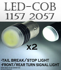 x2  LED 5W SMDs [White] Replace Car Sylvania Brake Tail Light Bulbs O147