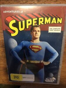 The Adventures Of Superman The Complete First Season DVD PAL