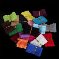 EE_ 10m Embroidered Lace Trim Ribbon Band Clothes Handicraft DIY Sewing Decorati