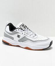 DC E. Tribeka LE White & Silver Size 10.5 Skate Sneaker Shoe ADYS700146