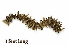 WEATHERED DRIFTWOOD GARLAND 3' LONG VARIOUS SIZE WIDTH BEACH HOME DECOR CRAFTS