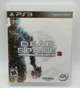 DEAD SPACE 3 - LIMITED ED. GAME FOR PLAYSTATION 3 PS3, GAME DISC & CASE VISCERAL