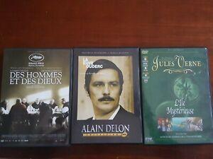 LOT DE 3 FILMS ANCIENS DVD LOT 35