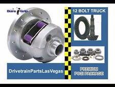 "Yukon Duragrip GM 8.875"" 12 Bolt Truck Posi Excel Ring Pinion 3.73 Master Kit"