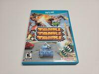 Tank Tank Tank (Nintendo Wii U, 2012) CIB Complete TESTED WiiU