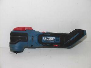 Erbauer WMT18-Li-QC 18V 6 Speed Cordless  Brushless Multi Tool Bare fully workin