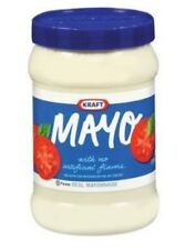 2 PACK Kraft Mayonnaise Mayo Smoth & Creamy Condiment