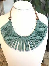 Panacea Patina Stick Statement Necklace