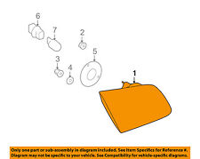 SUBARU OEM 10-14 Legacy Taillight Tail Light-Rear-Lamp Housing Left 84912AJ03A