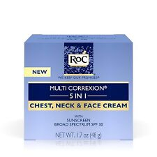 RoC Multi Correxion 5 in 1 Anti-Aging Chest, Neck and Face Cream with SPF 30,...