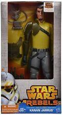 """KANAN JARRUS Rebels STAR WARS Hero Series 12"""" ACTION FIGURE mib"""