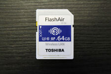Toshiba 64GB FlashAir W-04 Class 10 SDHC I USH-1 U3 Wireless LAN SD Card, Camera
