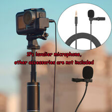 For DJI Osmo Action/Pocket Camera Mini 3.5mm Lavalier Microphone Audio Lines New