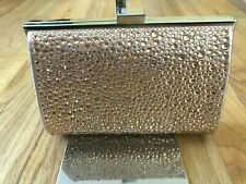 Inc International Concepts Women's Genuine Lory Studded Clutch OS Pink