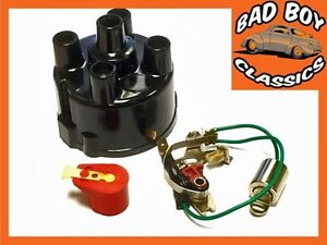 MG Midget 1500 LUCAS 45D Distributor Points Service Kit With RED ROTOR