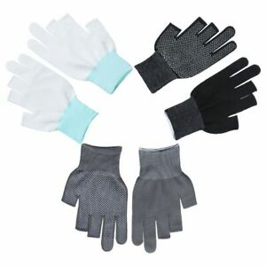 Driving Mittens Open/Half Fingers Sun Protection Anti-Slip Fishing Gloves