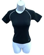 New NIKE PRO Vent Compression Ladies Crew Base Shirt Black Medium