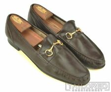 CHURCH'S Solid Brown Leather Mens Loafer Dress Shoes w/ BOX - UK 12 / US 13 N
