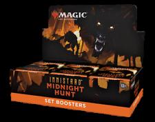 Innistrad Midnight Hunt Set Booster Box-MTG Magic The Gathering-a Estrenar!