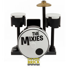 LEGO Drum Kit - Inc two Drums, Printed Bass Drum, Symbol & Seat. 'The Mixies'