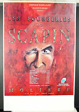 Molière Roger Louret the trickery of Scapin Poster d'exhibition