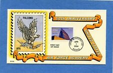 Sc # 3838 Air Force Academy Barbara Montgomery Hand Painted First Day Cover