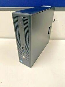 HP 600 G2 SFF i7-6700 6th Gen Quad 3.4GHz, 8GB DDR4, 500GB HDD, Win10 (J01/4)