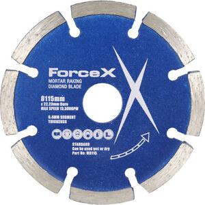 NEW Diamond Mortar Rake Disc 115 x 22mm 2 Pack