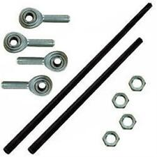 "Aluminum Shifter Rod Kit 24"" and 16"" with rod ends and nuts long IMCA sport mod"
