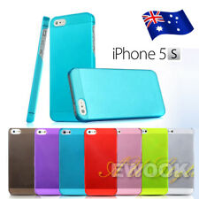 AU iPhone 5 5S 5GS Ultra Matte Thin Case Cover 0.5mm Slim For Apple