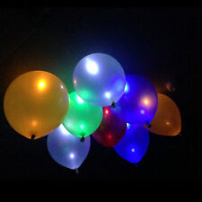 40 Pack LED Hellium Air Mixed Colors Balloons Wedding Light Up Decoration Nice
