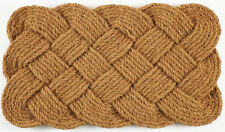 "DOOR MATS - NAUTICAL KNOTS DOORMAT - 18"" X 30"" - COIR DOOR MAT - WELCOME MAT"