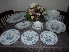 Service de table porcelaine de limoges pondichery Jammet Signolles 48 pièces