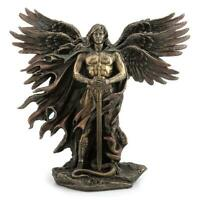 Six-Winged Guardian Angel With Serpent  - Myth & Legend Sculpture