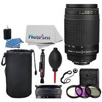 Nikon AF Zoom-NIKKOR 70-300mm f/4-5.6G Lens Bundle with Top Value Accessories!