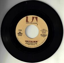 """DEL REEVES! -""""POUR IT ALL ON ME"""" B/W """"BELLES OF BROADWAY"""" UA ST 45 VPI CLEANED!"""