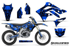 KAWASAKI KXF450 KX450F 12-15 CREATORX GRAPHICS KIT DECALS SKULLCIFIED BLNP