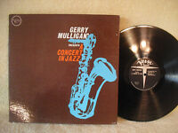 Gerry Mulligan, A Concert in Jazz, 1961, Verve Records, V-8415, Gatefold