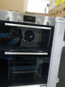 New Unboxed Bosch Serie 2 MBS133BR0B Built In Double Oven Stainless Steel