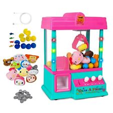 Electronic Claw Machine Candy Grabber Home Arcade Crane Toy + Prizes + USB
