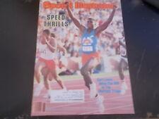 Carl Lewis, John McEnroe - Sports Illustrated Magazine 1984