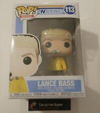 Funko Pop! Music Rocks 113 N'Sync Lance Bass Pop Vinyl Fu34543 N Sync Nsync