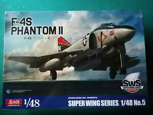 Zoukei-Mura SWS5 F-4S Phantom II in 1:48, neu & OVP
