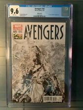 Avengers 2013 #25 CGC 9.6 NM+ Alex Ross 1:200 Sketch Variant! Rare!